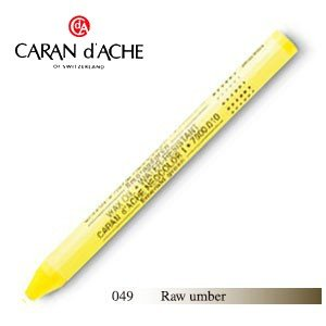 パステル カランダッシュ クラシックライン ネオカラー 1 オイルパステル 単色 raw umber 10個セット 7000-049|nomado1230