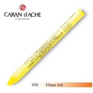 パステル カランダッシュ クラシックライン ネオカラー 1 オイルパステル 単色 flame red 10個セット 7000-050|nomado1230