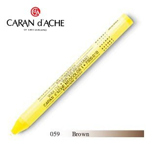 パステル カランダッシュ クラシックライン ネオカラー 1 オイルパステル 単色 ブラウン 10個セット 7000-059|nomado1230