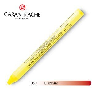 パステル カランダッシュ クラシックライン ネオカラー 1 オイルパステル 単色 カーマイン 10個セット 7000-080|nomado1230