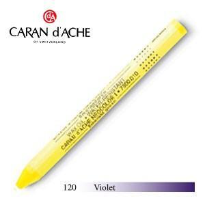 パステル カランダッシュ クラシックライン ネオカラー 1 オイルパステル 単色 バイオレット 10個セット 7000-120|nomado1230