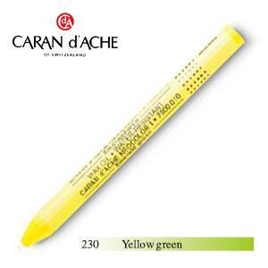 パステル カランダッシュ クラシックライン ネオカラー 1 オイルパステル 単色 イエローグリーン 10個セット 7000-230|nomado1230