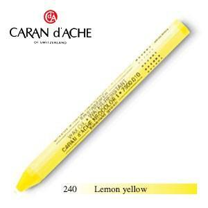 パステル カランダッシュ クラシックライン ネオカラー 1 オイルパステル 単色 レモンイエロー 10個セット 7000-240|nomado1230