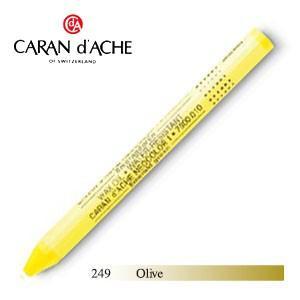 パステル カランダッシュ クラシックライン ネオカラー 1 オイルパステル 単色 オリーブ 10個セット 7000-249|nomado1230