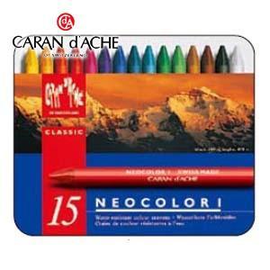 クレヨン カランダッシュ クラシックライン ネオカラー 1 15色 クレヨン 7000-315|nomado1230