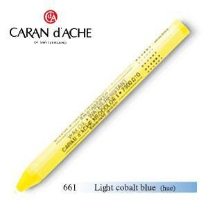 パステル カランダッシュ クラシックライン ネオカラー 1 オイルパステル 単色 ライトコバルトブルー 10個セット 7000-661|nomado1230