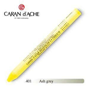 パステル カランダッシュ クラシックライン ネオカラー 1 メタリック オイルパステル 単色 ash grey 10個セット 7004-401|nomado1230