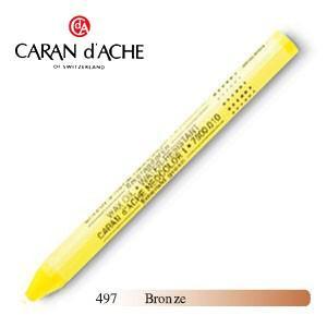 パステル カランダッシュ クラシックライン ネオカラー 1 メタリック オイルパステル 単色 ブロンズ 10個セット 7004-497|nomado1230