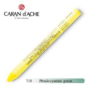 パステル カランダッシュ クラシックライン ネオカラー 1 メタリック オイルパステル 単色 phtalocyanine green 10個セット 7004-710|nomado1230