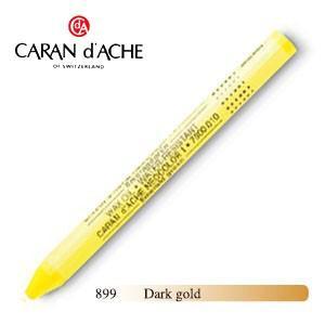 パステル カランダッシュ クラシックライン ネオカラー 1 メタリック オイルパステル 単色 ダークゴールド 10個セット 7004-899|nomado1230