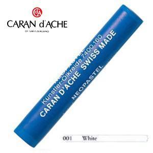 パステル カランダッシュ アーティストライン ネオパステル オイルパステル 単色 ホワイト 9個セット 7400-001|nomado1230