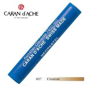 パステル カランダッシュ アーティストライン ネオパステル オイルパステル 単色 chestnut 9個セット 7400-057|nomado1230