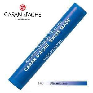 パステル カランダッシュ アーティストライン ネオパステル オイルパステル 単色 ウルトラマリン 9個セット 7400-140|nomado1230
