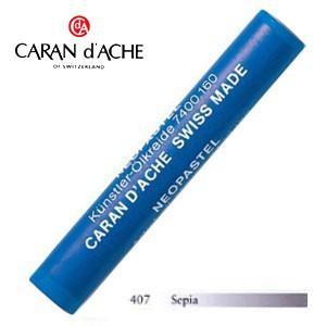 パステル カランダッシュ アーティストライン ネオパステル オイルパステル 単色 セピア 9個セット 7400-407|nomado1230