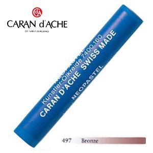 パステル カランダッシュ アーティストライン ネオパステル オイルパステル 単色 ブロンズ 9個セット 7400-497|nomado1230