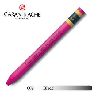 クレヨン カランダッシュ クラシックライン ネオカラー 2 水溶性クレヨン 単色 ブラック 10個セット 7500-009|nomado1230