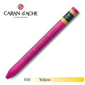 クレヨン カランダッシュ クラシックライン ネオカラー 2 水溶性クレヨン 単色 イエロー 10個セット 7500-010|nomado1230