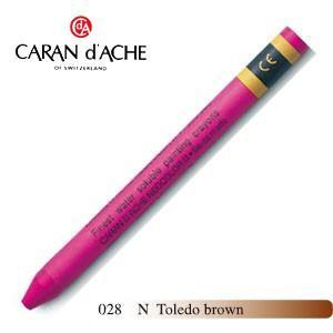 クレヨン カランダッシュ クラシックライン ネオカラー 2 水溶性クレヨン 単色 トレドブラウン 10個セット 7500-028N|nomado1230