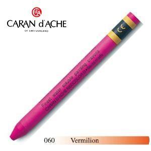 クレヨン カランダッシュ クラシックライン ネオカラー 2 水溶性クレヨン 単色 バーミリオン 10個セット 7500-060|nomado1230