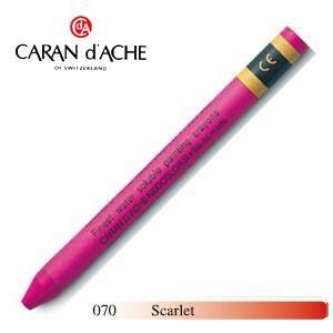 クレヨン カランダッシュ クラシックライン ネオカラー 2 水溶性クレヨン 単色 スカーレット 10個セット 7500-070|nomado1230