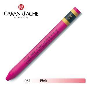 クレヨン カランダッシュ クラシックライン ネオカラー 2 水溶性クレヨン 単色 ピンク 10個セット 7500-081|nomado1230