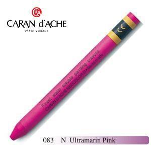 クレヨン カランダッシュ クラシックライン ネオカラー 2 水溶性クレヨン 単色 ウルトラマリン pink 10個セット 7500-083N|nomado1230