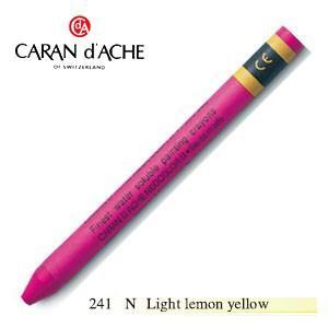 クレヨン カランダッシュ クラシックライン ネオカラー 2 水溶性クレヨン 単色 ライト レモンイエロー 10個セット 7500-241N|nomado1230