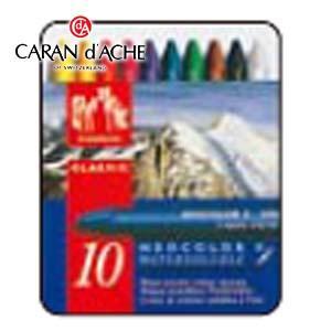 クレヨン カランダッシュ クラシックライン ネオカラー 2 10色 水溶性クレヨン 7500-310|nomado1230