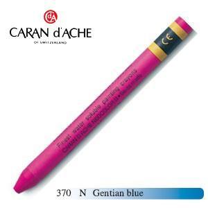 クレヨン カランダッシュ クラシックライン ネオカラー 2 水溶性クレヨン 単色 gentian blue 10個セット 7500-370N|nomado1230