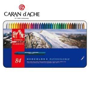 クレヨン カランダッシュ クラシックライン ネオカラー 2 84色 水溶性クレヨン 7500-384|nomado1230