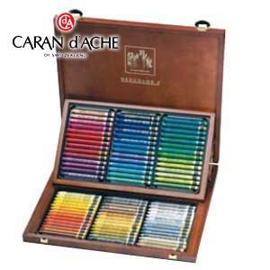 クレヨン カランダッシュ クラシックライン ネオカラー 2 84色木箱入 水溶性クレヨン 7500-484|nomado1230