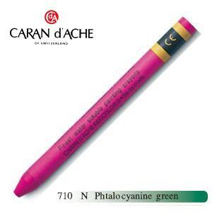 カランダッシュ クラシックライン ネオカラー 2 水溶性クレヨン 単色 (phtalo cyanine blue) 10個セット 7500-710N