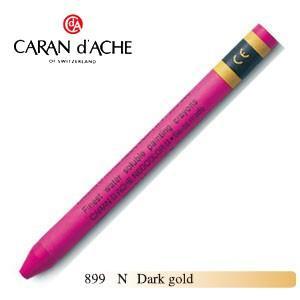 クレヨン カランダッシュ クラシックライン ネオカラー 2 水溶性クレヨン 単色 ダークゴールド 10個セット 7500-899N|nomado1230