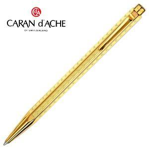 高級 ボールペン 名入れ カランダッシュ エクリドール シェブロン ボールペン ゴールド 0898-208 nomado1230