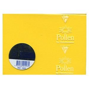 カード クレールフォンティーヌ POLLEN ポレン ポレンミニカード 5セット イエロー cf1223|nomado1230