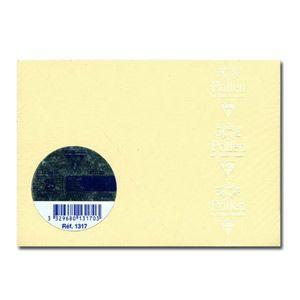 カード クレールフォンティーヌ POLLEN ポレン 四角カード 25枚入 5セット アイボリー cf1317|nomado1230