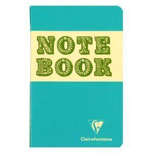 ノート 横罫 クレールフォンティーヌ BOB 11×17 S 横罫 ノートブック 5冊セット ブルー&マッチャ cf32056|nomado1230