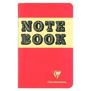 ノート 横罫 クレールフォンティーヌ BOB 11×17 S 横罫 ノートブック 5冊セット ピーチ&ネイビー cf32086|nomado1230