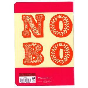ノート A5 横罫 クレールフォンティーヌ BOB A5 B 横罫 ノートブック 5冊セット ピンク&オレンジ cf32826|nomado1230