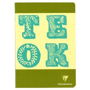 ノート A5 横罫 クレールフォンティーヌ BOB A5 B 横罫 ノートブック 5冊セット マッチャ&ブルー cf32836|nomado1230