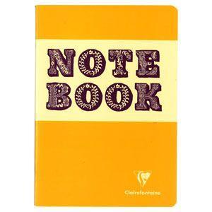 ノート A5 横罫 クレールフォンティーヌ BOB A5 S 横罫 ノートブック 5冊セット イエロー&パープル cf32866|nomado1230