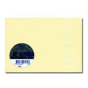 封筒 クレールフォンティーヌ POLLEN ポレン ポストカードサイズ封筒 20枚入 5セット アイボリー cf5446|nomado1230