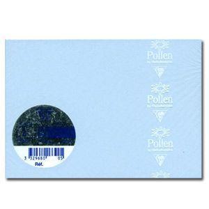 封筒 クレールフォンティーヌ POLLEN ポレン ポストカードサイズ封筒 20枚入 5セット ブルー cf5466|nomado1230