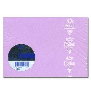 封筒 クレールフォンティーヌ POLLEN ポレン ポストカードサイズ封筒 20枚入 5セット ライラック cf5866|nomado1230