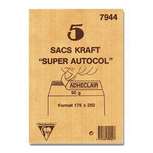 封筒 クレールフォンティーヌ クラフト封筒M 5セット cf7944|nomado1230
