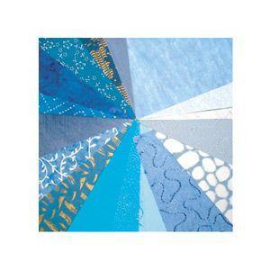 印刷用紙 クレールフォンティーヌ アートペーパー パピエドゥモンド 20枚入 3セット ブルー cf95086|nomado1230