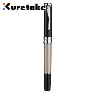 万年毛筆 筆ペン 高級 クレタケ ペンプレゼント スターリーナイト 万年毛筆 シャンパンゴールド DAY141-2 nomado1230