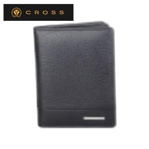 カードケース メンズ 革 名入れ クロス FV ビジネスカードケース ブラック AC028141-1|nomado1230