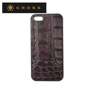 iphoneケース クロス ココ・バイ・カラー iPhoneケース ブラウン×キャメル AC058190-2|nomado1230