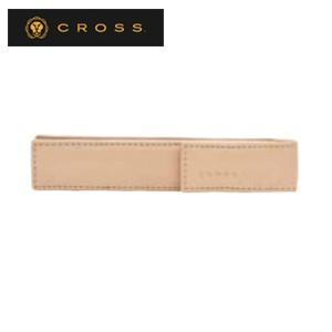 ペンケース 革 名入れ クロス クラシックセンチュリー シングルペンケース サンド AC259-3|nomado1230